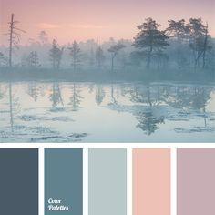 Palette de couleurs déco
