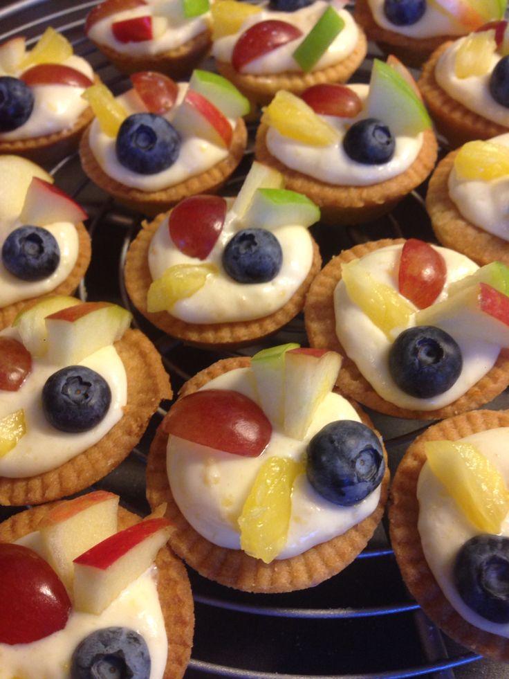 Mini fruittaartjes