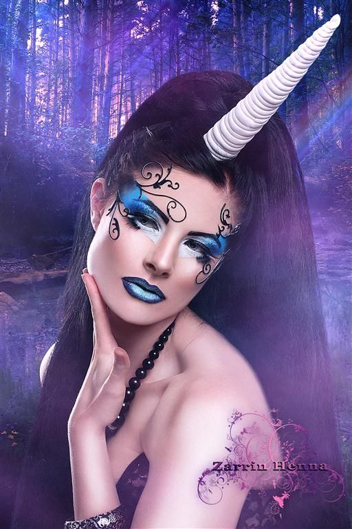 Fantasy Makeup   Haya Qureshi Makeup Artist » Haya Qureshi- fantasy-makeup-4