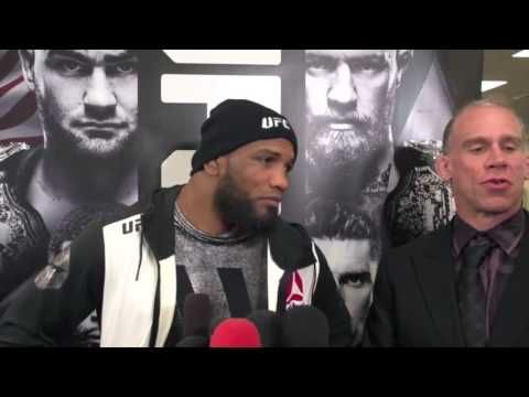 MMA Yoel Romero explains history with champ Michael Bisping
