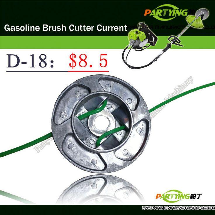 Free Shipping buy 3 get 1 free petrol lawn mower trimmer 2-stroke brush cutter head grass cutting machine gasoline plastic  D-18