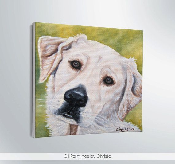 MINIATURE DOG  painting Oil painting by OilpaintingsChrista