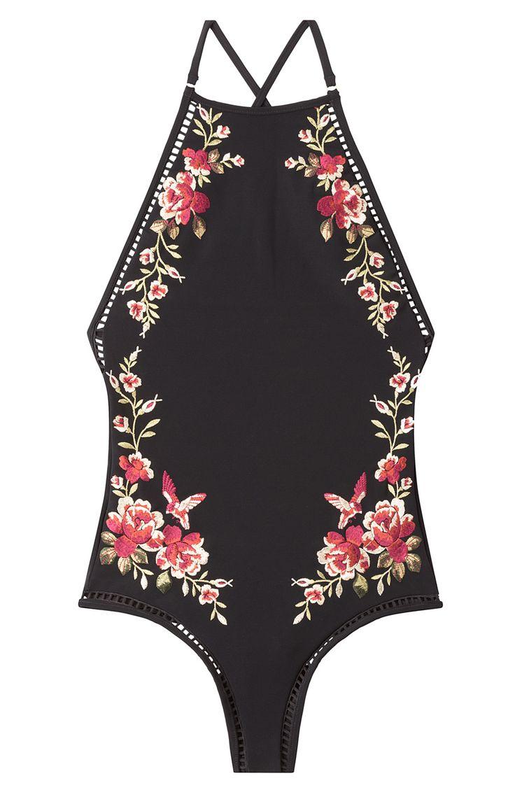 ZIMMERMANN - Swimsuit mit floraler Stickerei