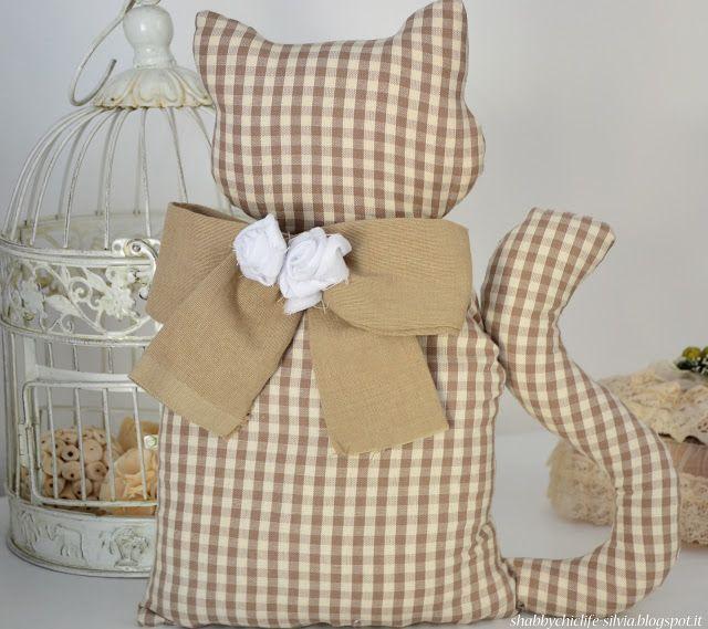 gatto fermaporta, cucito creativo,  Go To www.likegossip.com to get more Gossip News!