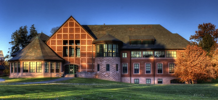 Bunn Library, The Lawrenceville School, Lawrenceville, NJ