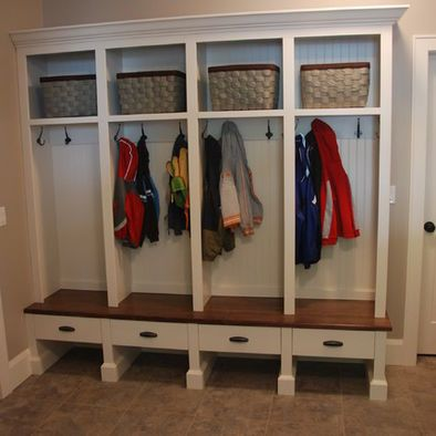 Spaces Mud Room Locker And Bench Design, Pictures, Remodel, Decor and Ideas - page 2