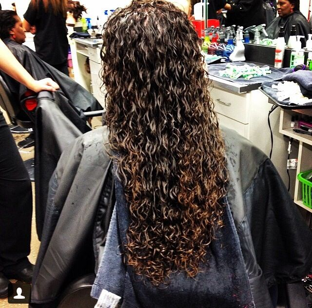 Triple Piggyback Perm Crystal S Hair Styles Pinterest