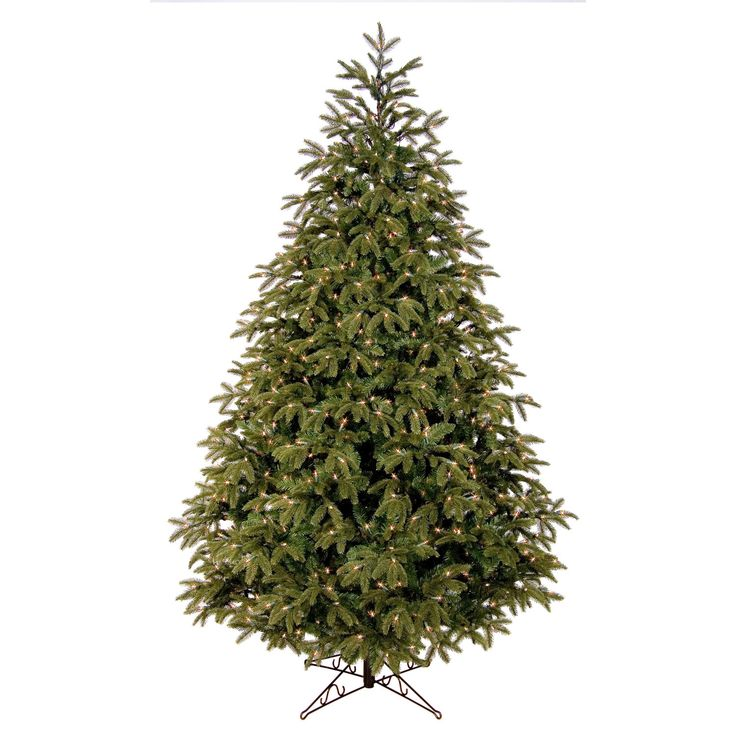 Shop Fraser Fir Christmas trees boasting realistic needles with natural looking bark wrapped branches. FREE SHIPPING on Red Sleigh Christmas trees over $95! Easy setup, hinged branches and LED or incandescent lights available.