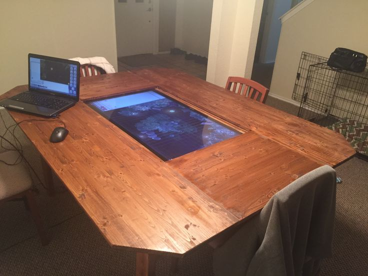 finished digital gaming table - Gaming Tables