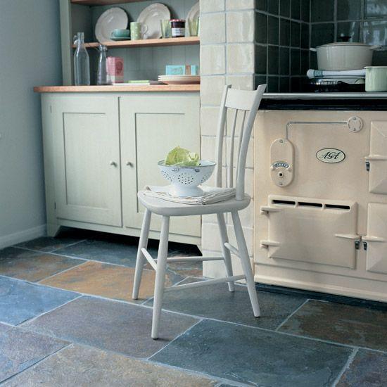 25 best ideas about slate kitchen on pinterest slate for Cottage flooring ideas