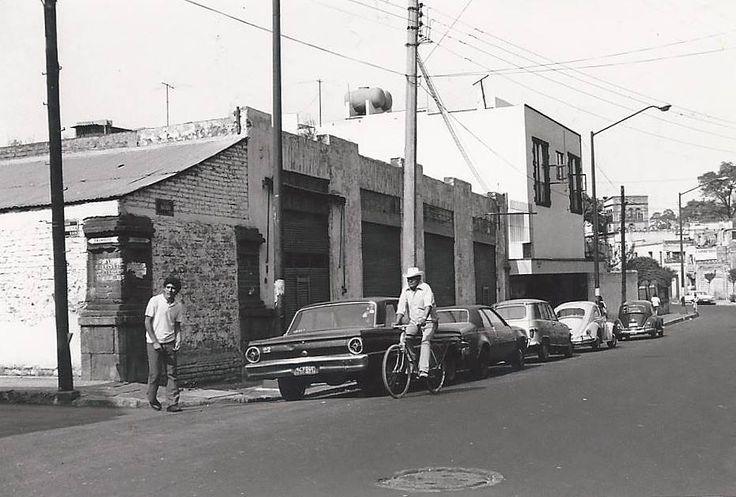 Belisario Dominguez y Aguayo en Coyoacan en 1973 en Ciudad de Mexico