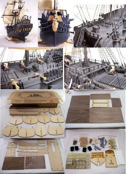 Ship model kits, for discount prices specializing in wood ship model kits, model ship books, tools and ship model supplies.  Premier Ship Models Hobby Shop.