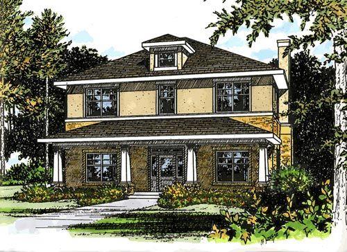 House plans craftsman bungalow style railings