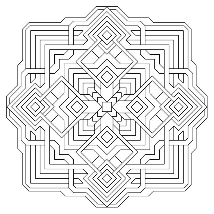 17 Best images about Colouring - GEOMETRIC on Pinterest ...