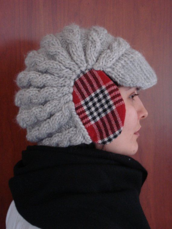 Knitting Patterns For Crazy Hats : 116 best Newsboy hat images on Pinterest