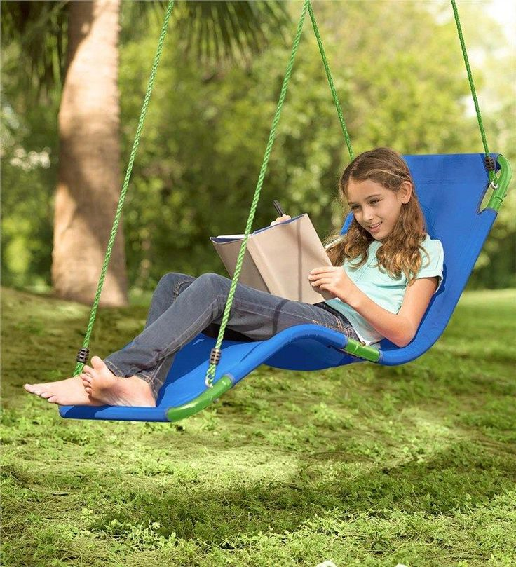 8 Outrageously Cool Swings & Hide-Outs That Will Keep Your Kids Outside. All. Summer. Long. - what moms love