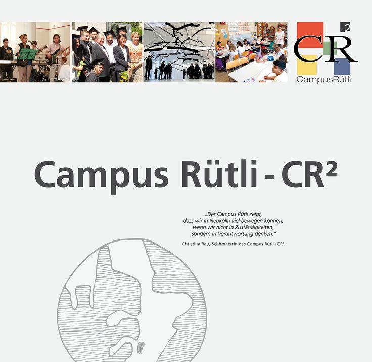 Erfahren Sie mehr über das Modellprojekt Campus Rütli - CR², über dessen Einrichtungen und Partner.