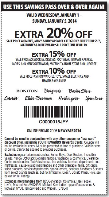 Elder beerman coupon code