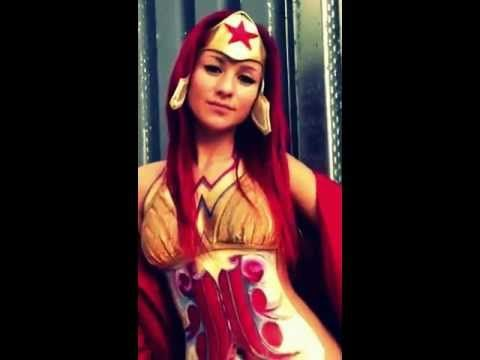 Check this makeup video out -- Wonder woman body painting with www.samanthawpg.com on MakeupBee