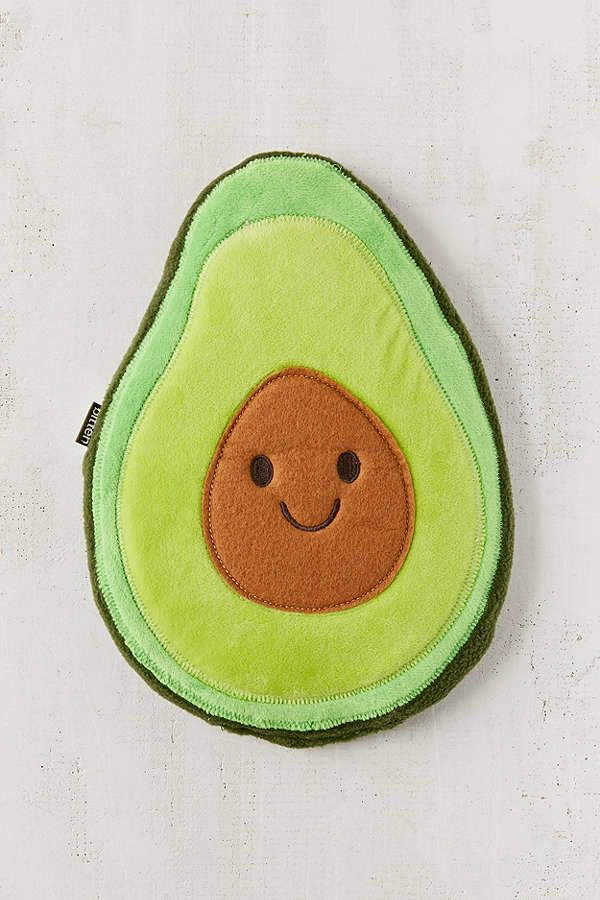 Urban Outfitters Huggable Avocado Cooling Heating Pad Ad