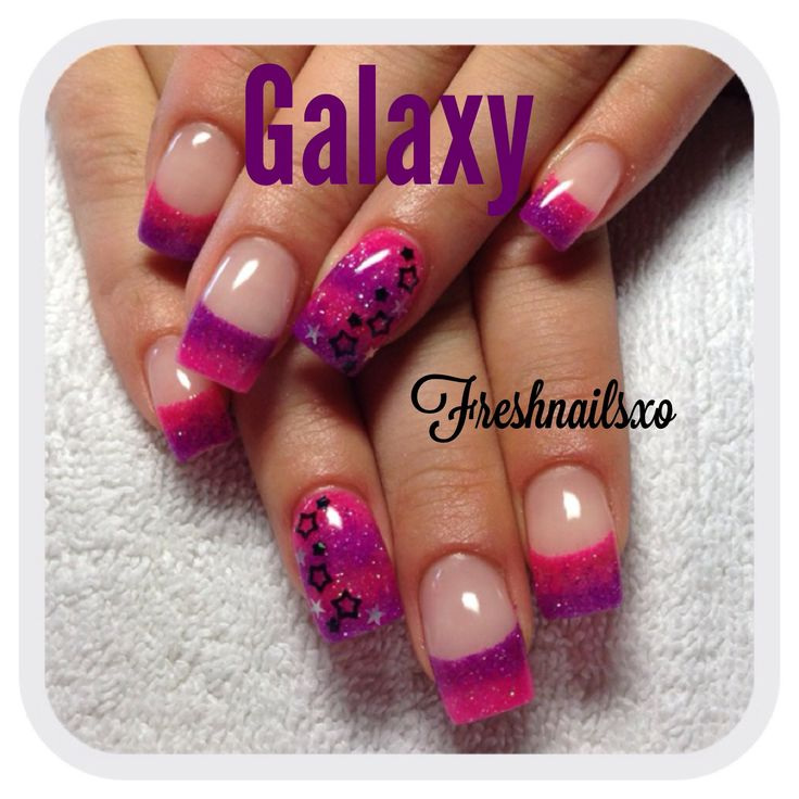 Gel Nail Designs Neon Pink: Neon nails met soak off gel polish http ...
