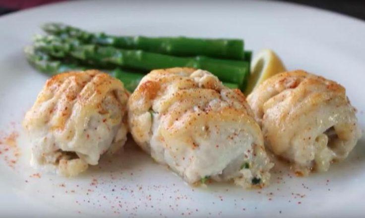 Des roulés de sole farcis au crabe... Un mélange parfait entre ÉCONOMIE et GASTRONOMIE!
