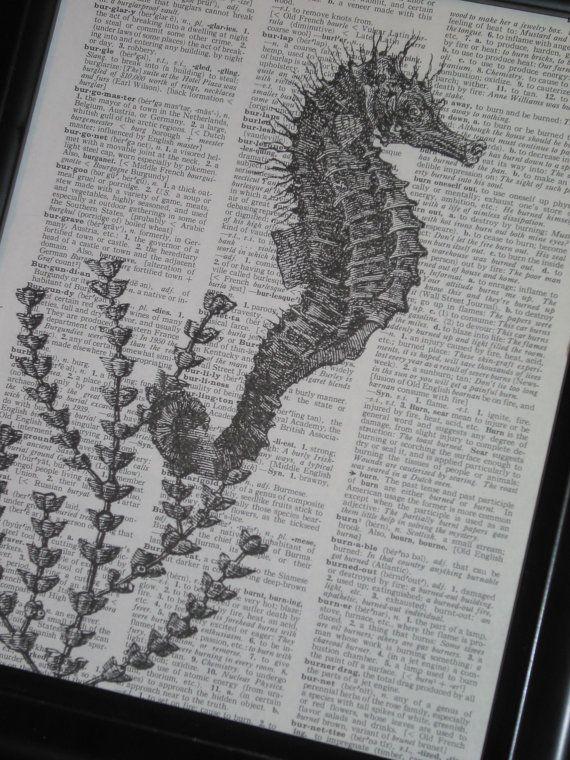 Sea Life Art Print Ocean Art Print by HamiltonHousePrints