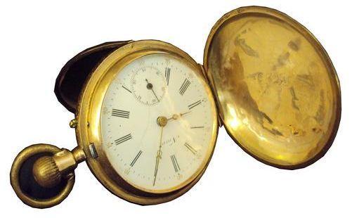 Mihai Eminescu's pocket watch (1881)