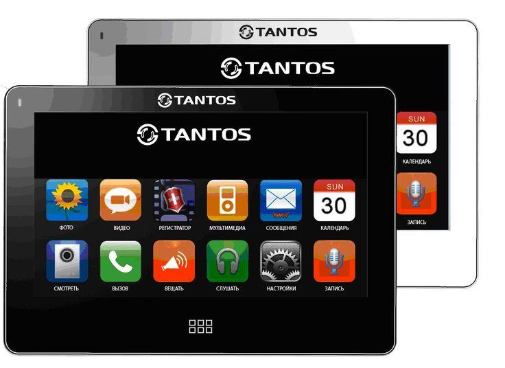 Монитор видеодомофона Tantos NEO Slim NEO Slim Сверхтонкий корпус и дизайн монитора Tantos NEO Slim white прост и изящен. Сенсорный экран 7 дюймов позволяет общаться с монитором, как со смартфоном. Значки меню выполнены подобно значкам меню iPhone. Модель имеет интерком, режим прослушивания других мониторов, функцию общего вызова. Монитор поддерживает micro SD карты, имеет встроенный DVR с детектором движения, автоответчик (micro SD).Видеодомофон Tantos NEO Slim white оснащен интересными…