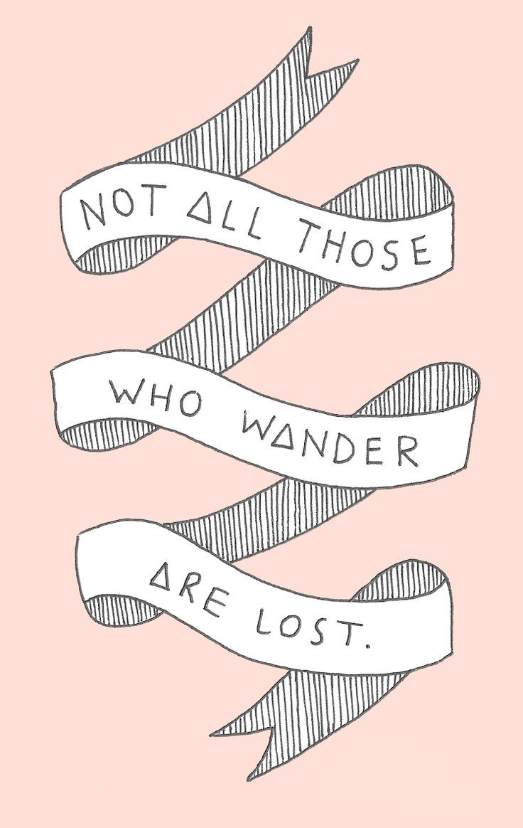 "{free} ""not all those who wander..."" iPhone background — OH NO Rachio!"