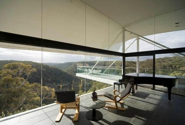 Berman House in Joadja, New South Wales, Australia by Harry Seidler   Awesome Architecture