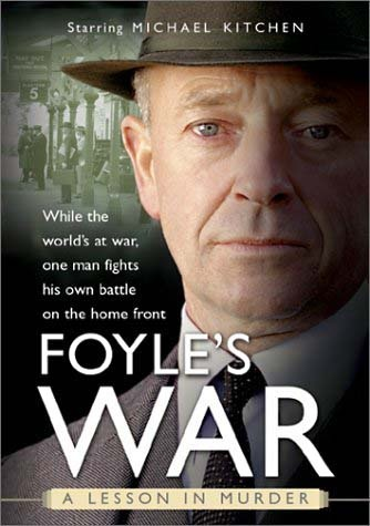 Foyle's War with Michael Kitchen as Detective Foyle. Set against the backdrop of WW2. Series continues on PBS and available on Netflix.