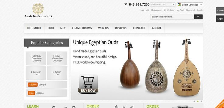 Design a menu / banner to the left side of the website by designmart