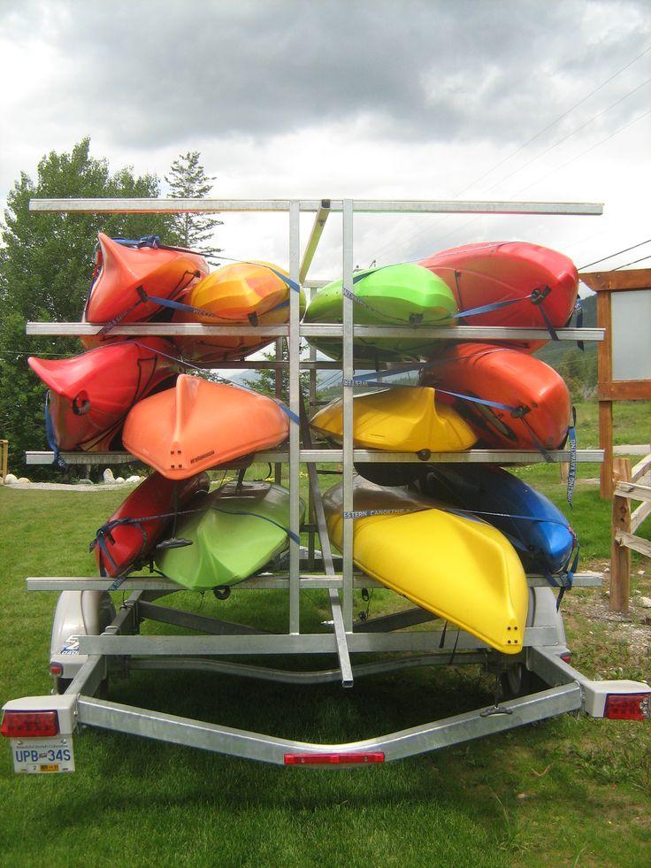Kayaks #FairmontHotSpringsReasort #kayak #rentals #kayaktours #tours #BCRockies #adventure #activities #fun #outdooractivities