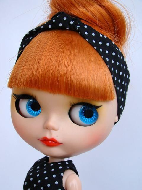 Cute vintage blythe doll | via Tumblr