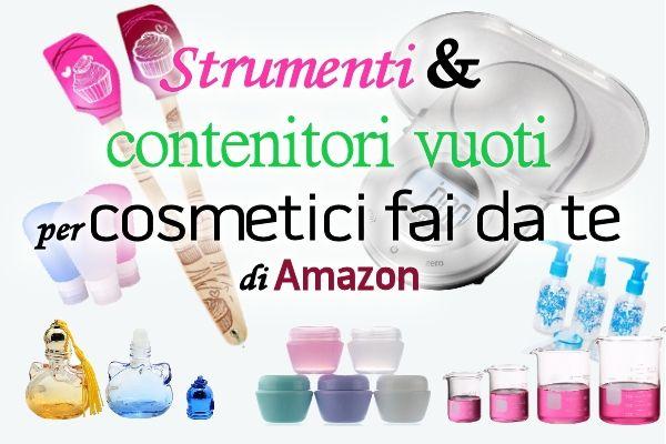 Dove comprare strumenti e contenitori vuoti per cosmetici fai da te senza spese di spedizione  -  Spignatto - ricette cosmetici ecobio fai da te