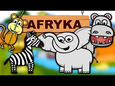 Zwierzęta dla dzieci - Zwierzęta w Afryce - Odgłosy zwierząt | CzyWieszJak - YouTube