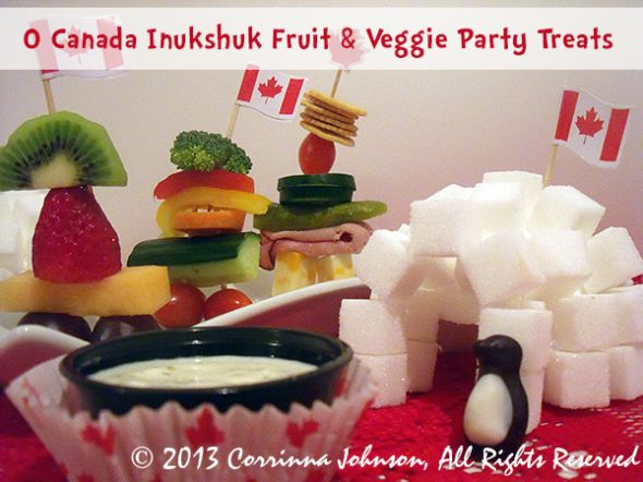 How To Make Inukshuk Treats For July 1st Canada Day Parties #canada