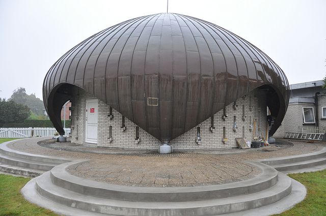 First Scandinavian Mosque!     Nusrat Djahan Moskéen, Eriksminde Allé 2