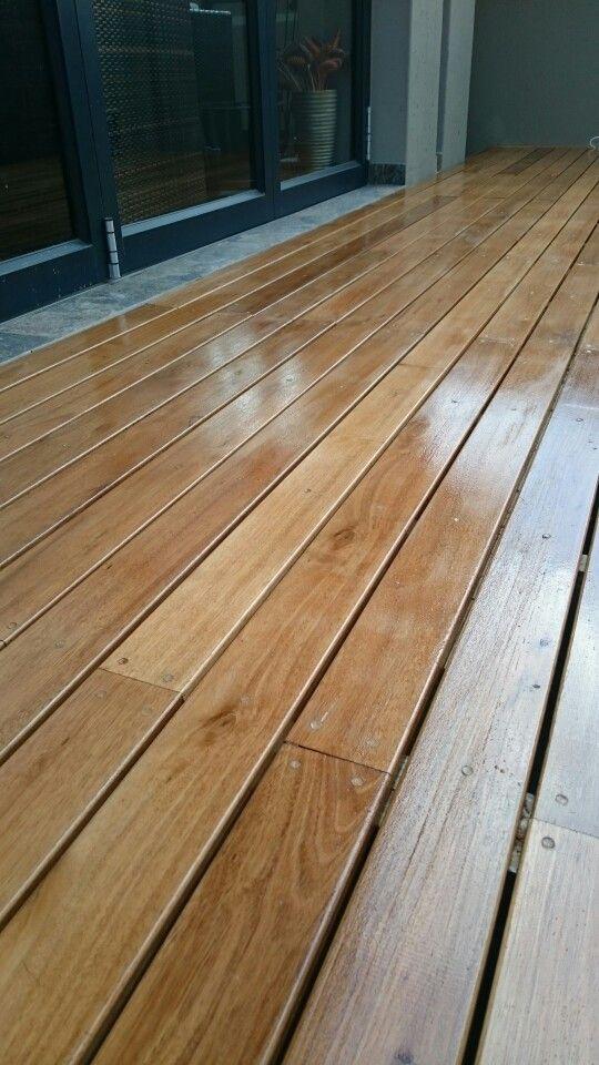 Grey ironbark decking