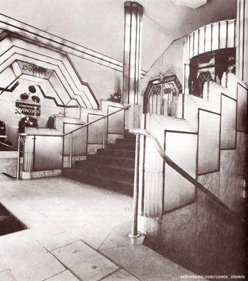 Interior del Strand Palace Hotel, en Westminster, Londres, 1930. (hva)
