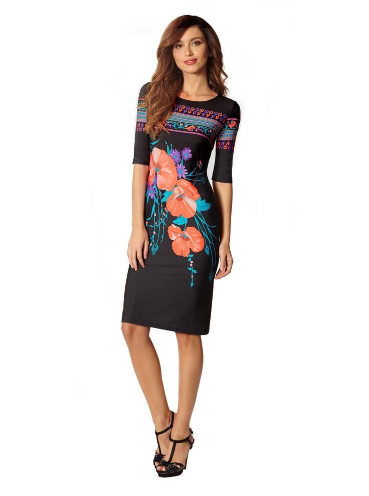 Bec poppy print dress | Leona Edmiston