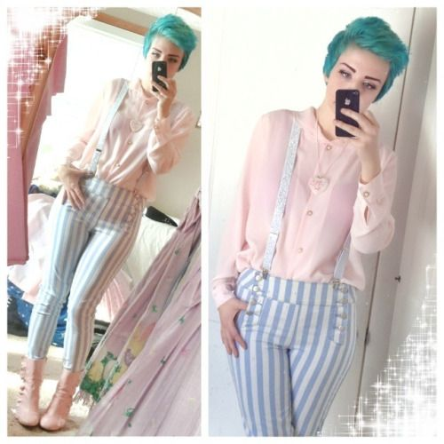 kawaii pastel ?? pale fairy kei pastel kei daily outfit post not ...