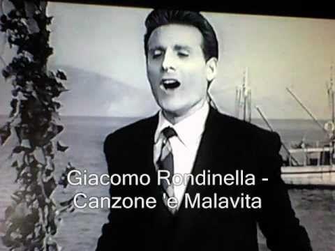 Giacomo Rondinella - Canzone 'e Malavita *****