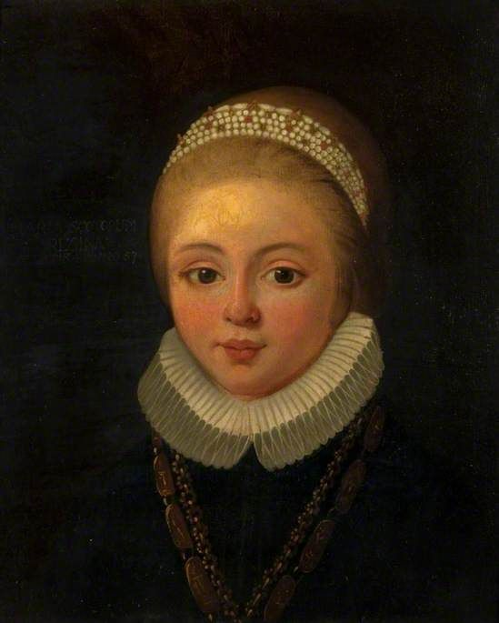 Mary, Queen of Scots (1542–1587), as a Child