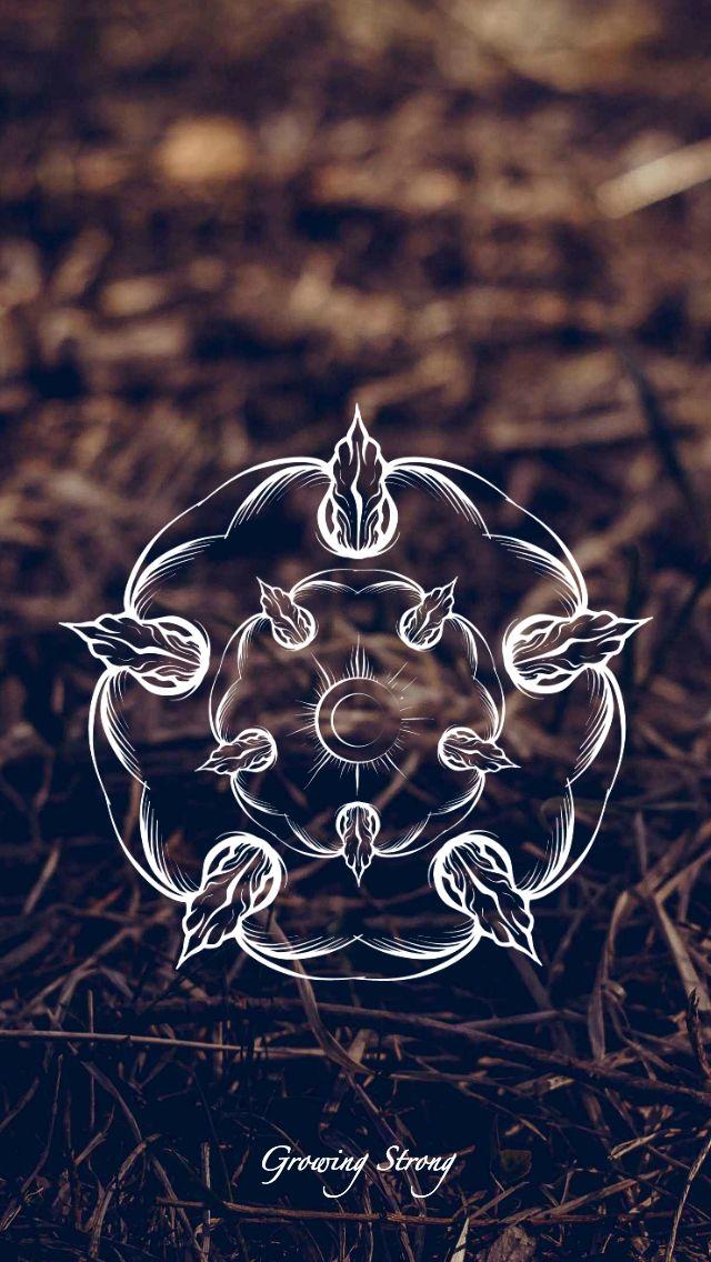 Game of Thrones - wallpaper - House sigil - Tyrell by EmmiMania.deviantart.com on @DeviantArt
