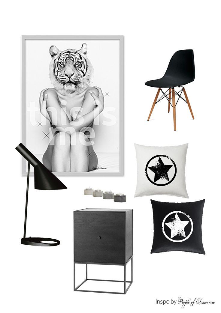 Minimalistic interior + 'This is me' poster #poster #design #interior #minimalistic #scandinavian