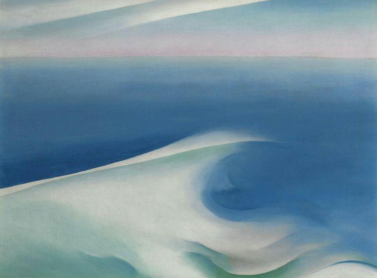 Blue Wave, Maine, Georgia O'Keeffe, s.d.