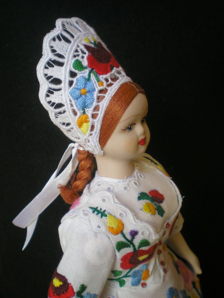 A china doll from Kalocsa, Hungary no. 4.