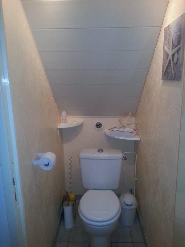 Wc sous escalier recherche google salle de bain petite for Petite salle de bain toilette